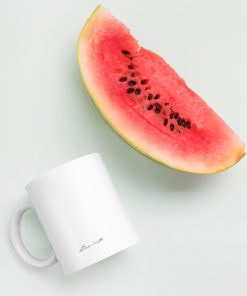 art mug watermelon